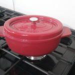 oval casserole ruby
