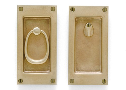 POCKET DOOR PRIVACY SET (SVB CS FP401IML PR)   F.L.Bone